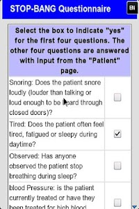 Sleep Apnea Screener screenshot 5