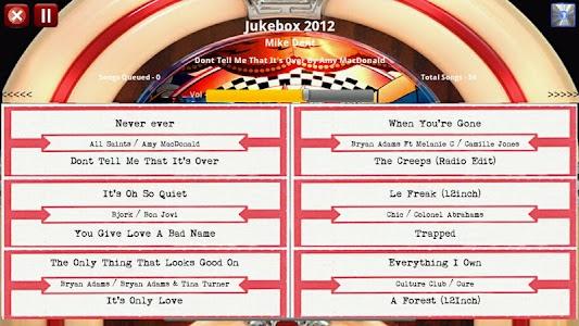 Jukebox 2012 Free Edition screenshot 4