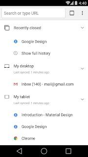 Chrome Beta screenshot 03