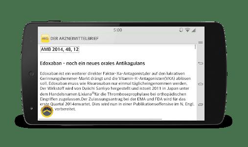 DER ARZNEIMITTELBRIEF screenshot 5
