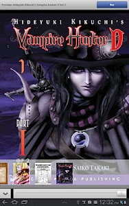 Vampire Hunter D Store screenshot 2