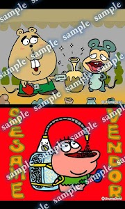 Daily Cartoon002 LWP & Clock screenshot 4