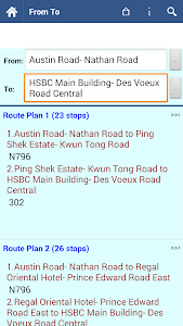Hong Kong Bus Info screenshot 3