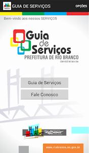 GUIA PREFEITURA DE RIO BRANCO screenshot 0