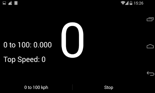Speedo: 0 to 100 kph screenshot 1