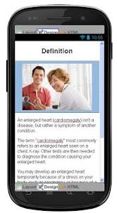 Enlarged Heart Information screenshot 1