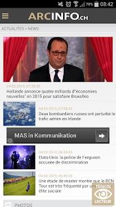 ArcInfo en continu screenshot 0
