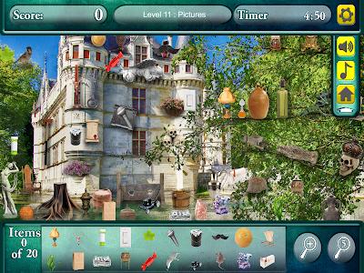 Hidden Objects: World Castles screenshot 1