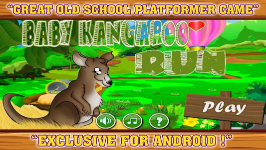 Baby kangaroo run screenshot 0