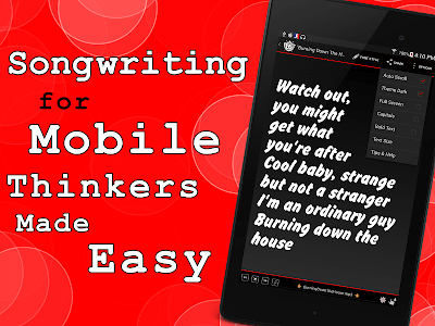 Write Songs Songwriting Lyrics screenshot 7