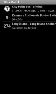 MBTA Alerts Pro screenshot 1