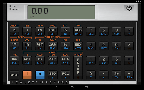 HP 12C Platinum Calculator screenshot 3