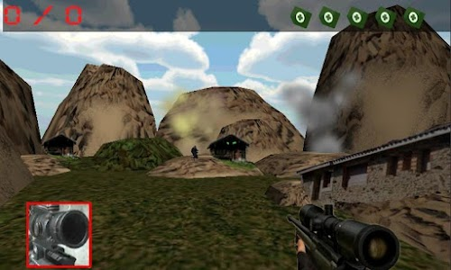army sniper: mountain strike screenshot 1