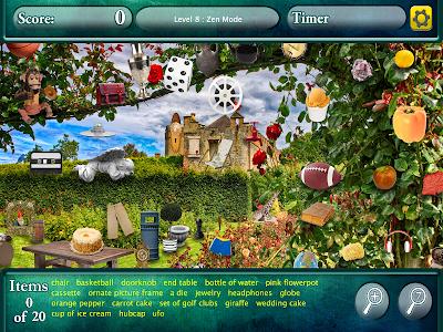 Hidden Objects Secret Gardens! screenshot 6