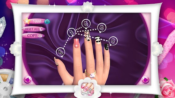 Fashion Nails 3D Girls Game screenshot 06