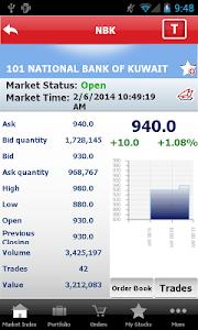 Gulf Bank Mobile Trader screenshot 4