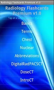 Radiology Flashcards Premium screenshot 0