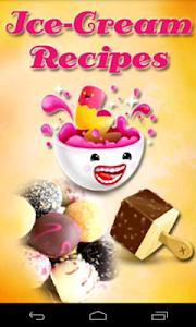 Ice-Cream Recipes screenshot 0