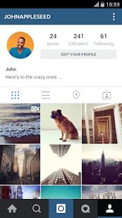 Приложения на Google Play Instagram
