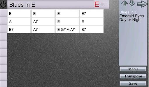EZ Chord Chart screenshot 4