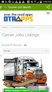 Truck Driver Job Search screenshot 2