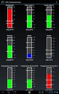 USB Temperature display + log screenshot 1