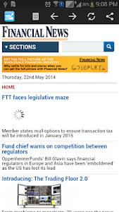 Financial News screenshot 1