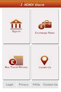 ICICI Bank UK – Mobile Banking screenshot 0
