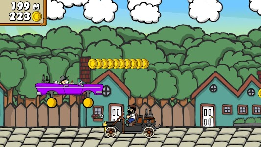 Dr. Gentleman's Jetpack Run screenshot 18