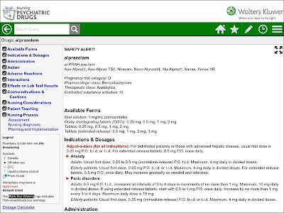 Nursing Psychiatric Drugs screenshot 6
