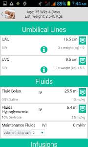 Neonatology screenshot 2