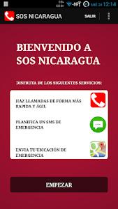 SOS NICARAGUA screenshot 0