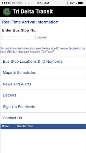 Real Time Bus Info screenshot 0