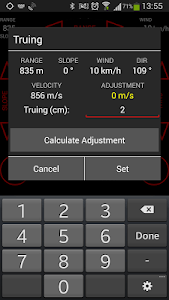 Sniper Calculator PRO screenshot 1