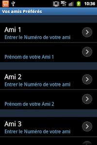 SMS parlant francais screenshot 3