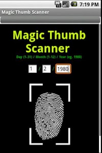 Magic Thumb Scanner screenshot 0