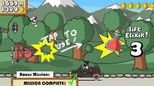 Dr. Gentleman's Jetpack Run screenshot 21