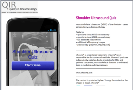 Shoulder Ultrasound screenshot 0