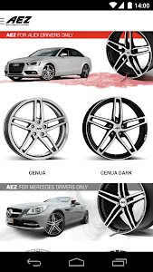 AEZ Wheels Configurator screenshot 5