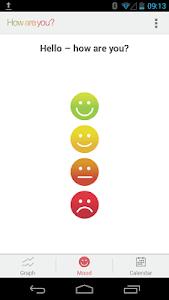 How Are You? - Mood tracker screenshot 0