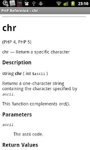 PHP Reference screenshot 2