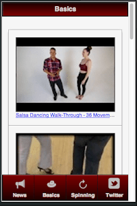 Salsa for Beginners screenshot 0