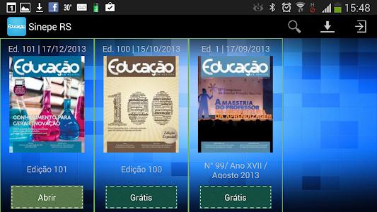 Educação em Revista screenshot 1