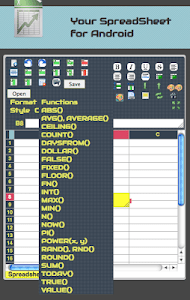 Your SpreadSheet screenshot 1