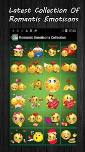 Romantic Emoticons Collection screenshot 1