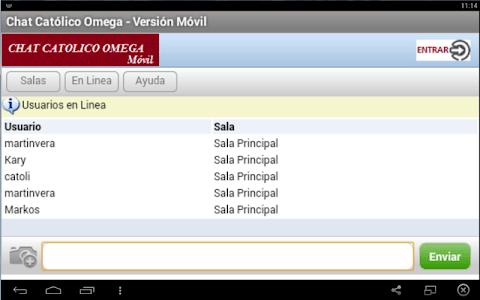 Chat Católico Omega screenshot 4