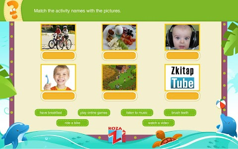 İngilizce 5 KOZA Z-Kitap screenshot 6