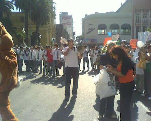 Manifestación Casa de Gobierno