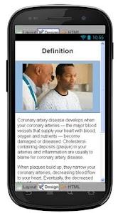 Coronary Artery Information screenshot 1
