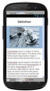 Endometrial Cancer Information screenshot 1